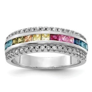 Jewelry - 14K Brilliant 🌈 CZ Ring